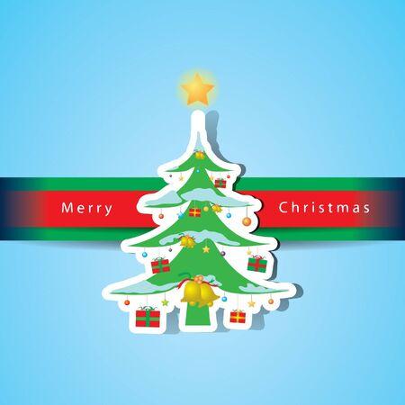 Christmas card vector Stock Vector - 16644278