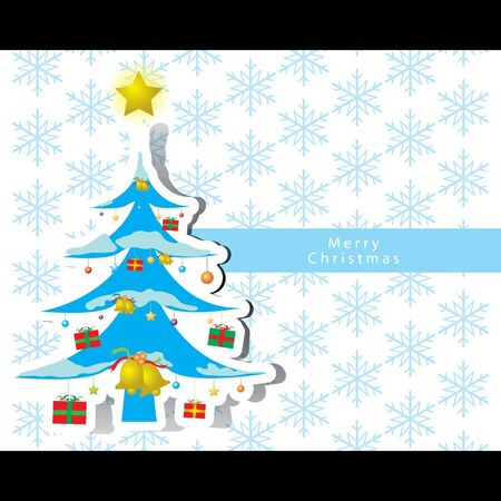 Christmas card vector Stock Vector - 16644286
