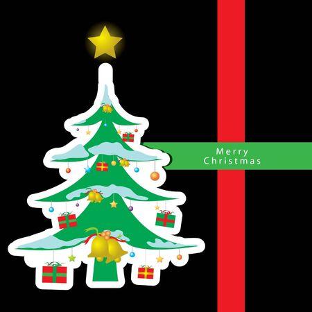 Christmas card vector Stock Vector - 16644275