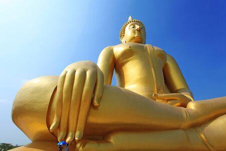 praye: Buddha meditation statue in Thailand