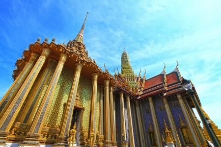 Wat Phra Kaew Grand Palace Bangkok Thailand photo