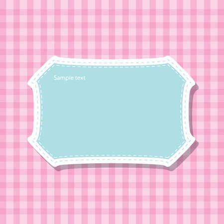 frame pattern, speech bubbles, text box vector Stock Vector - 17521890