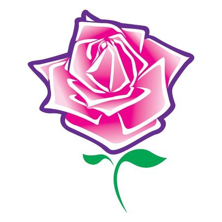 rose vector. Stock Vector - 17521979