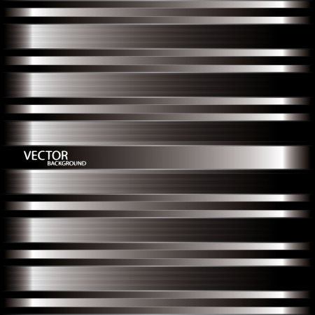 metal background vector Stock Vector - 19832523