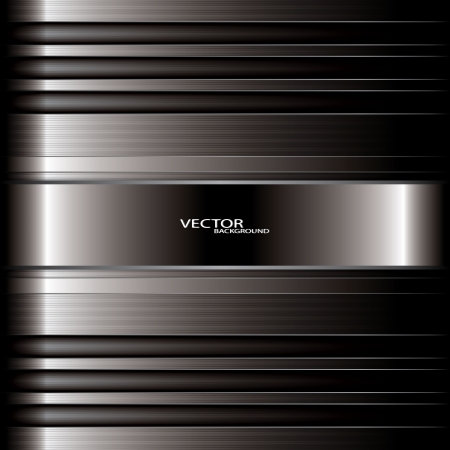 polished floor: metal background vector