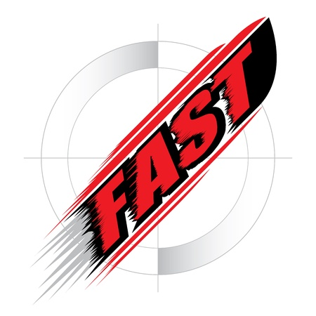 high speed: The abstract of Fast speed Concept vector