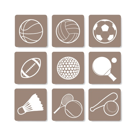 The abstract of Sport sign, symbol Stock Vector - 20666032