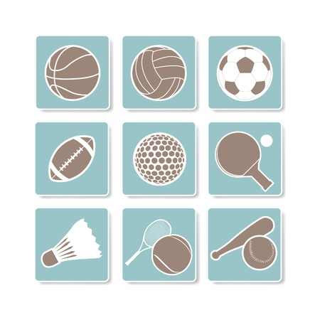 The abstract of Sport sign, symbol Stock Vector - 20666037