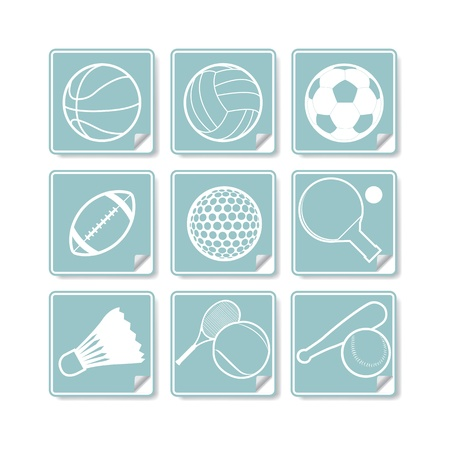 The abstract of Sport sign, symbol Vector