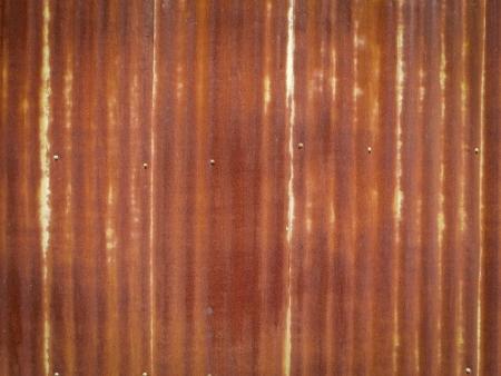 parapet: Zinc rust wall background