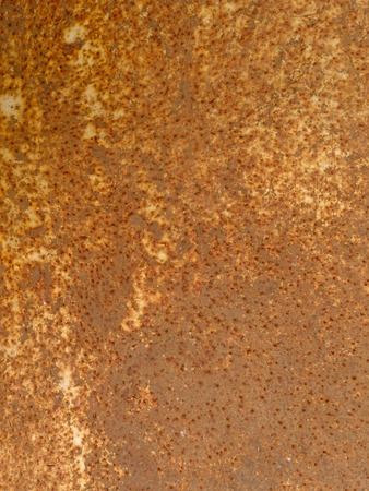 oxidate: metal rust background Stock Photo