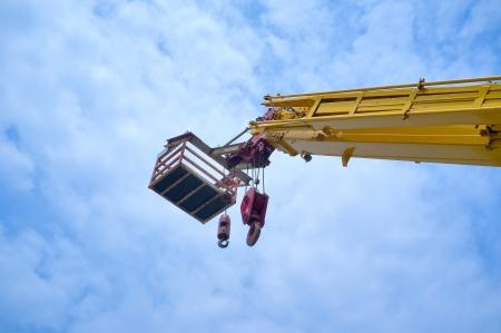 mobile crane photo