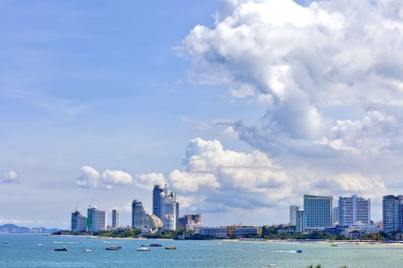 SEA PATTAYA THAILAND photo