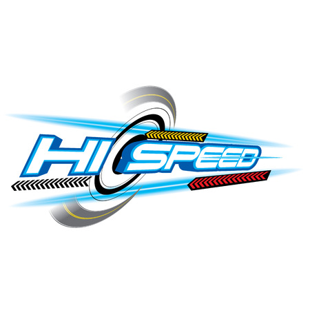 The abstract of Hi Speed Concept vector