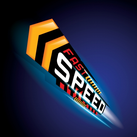 THE ABSTRACT OF FAST SPEED CONCEPT VECTOR 免版税图像 - 23427675