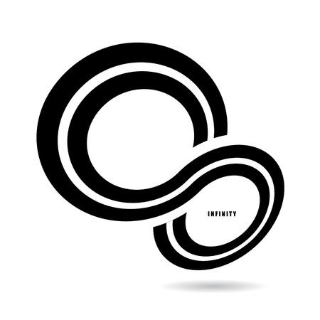 The abstract of Infinity sign Vector