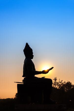 King Ramkhamhaeng Monument The first king of the Kingdom of Sukhothai  photo