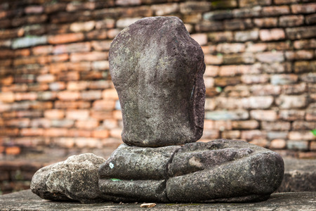 Sukhothai historical park at Sukhothai province in Thailand photo