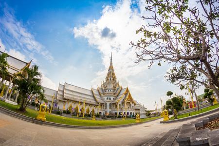 chachoengsao: Thailand Temple, Wat Sothorn, Chachoengsao