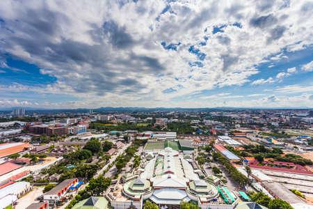 pattaya: THAILAND, PATTAYA - OCTOBER 26: Top view of Pattaya city, on October 26.2014 in Pattaya, Thailand.