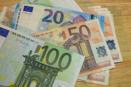 papermoney: Euro money banknotes