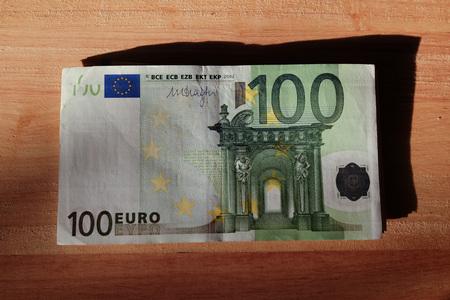 papermoney: EURO BANKNOTE