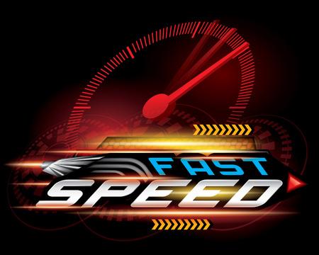 high speed internet: FAST SPEED CONCEPT
