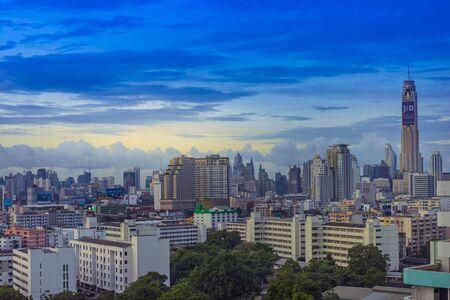 Bangkok, Thailand - July 8: Cityscape of Bangkok in the morning. on July 8, 2017 in Bangkok, Thailand. Editorial