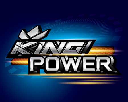King power concept vector Illustration