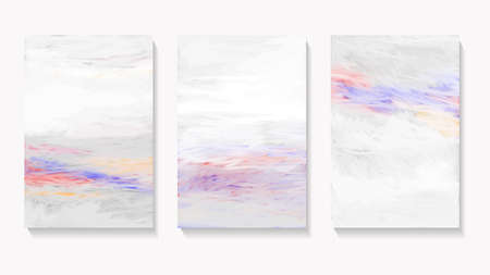 Set of three abstract backgrounds.