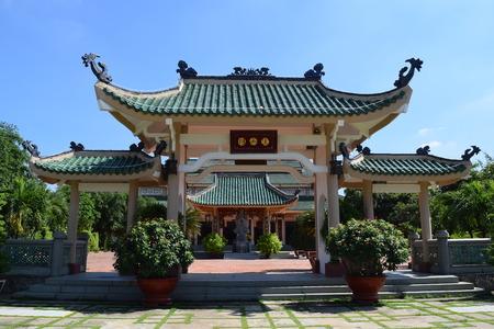 dong: The Memorial of Literature Tran Bien temple in Dong Nai, vietnam