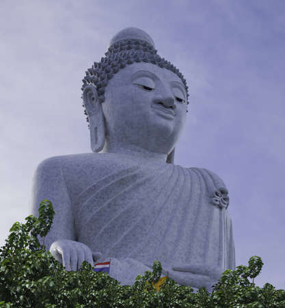 Big buddha in phuket ,Thailand photo