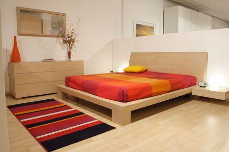 modern bedroom Stock Photo - 2448512