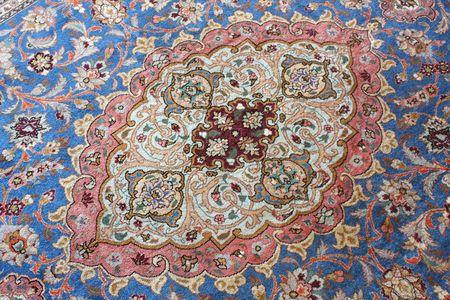 silk wool: carpet