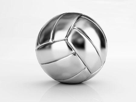ballon volley: d'argent en volley-ball