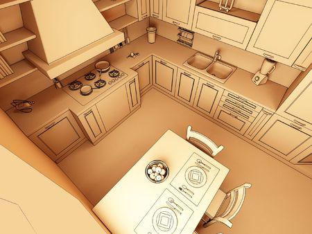 classic kitchen photo