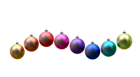 rendering of christmas ball photo
