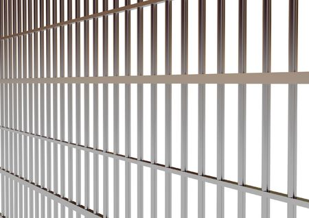 hi res rendering of jail bar Stock Photo - 2992789