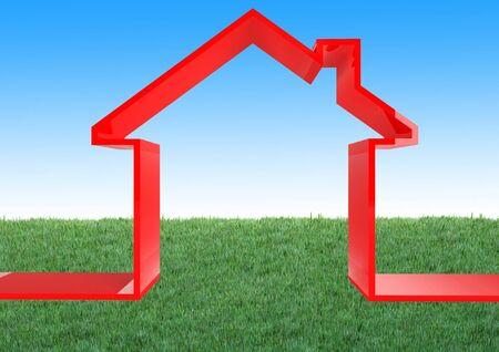 eco house Stock Photo - 2621800