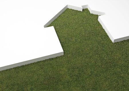 home loans: eco house metaphor