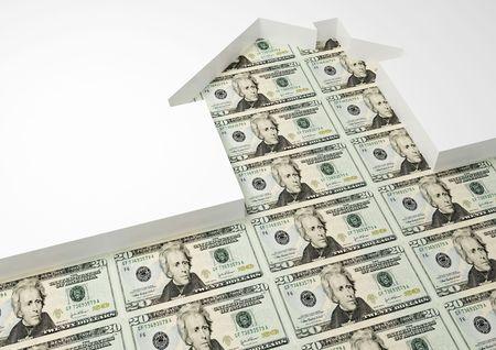 dollar house Stock Photo - 2795509