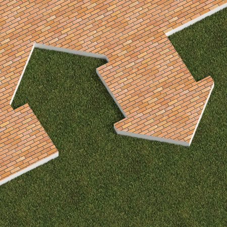 metaphor house Stock Photo - 2789795