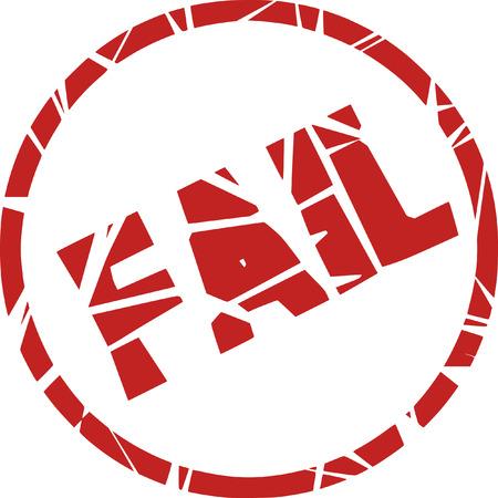 denial: fail stamp