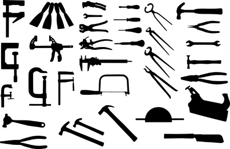 woodwork: tools collection
