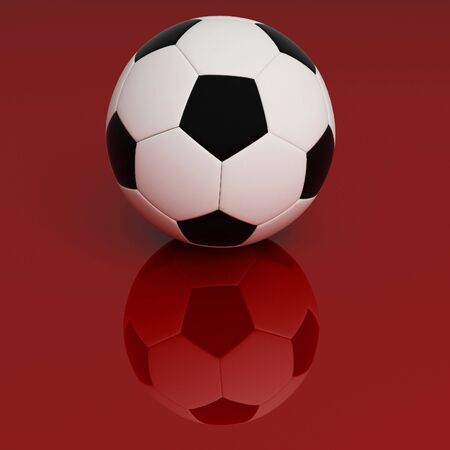 soccer background Stock Photo - 3096097