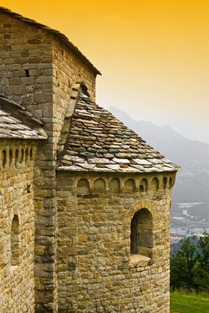 detail of romanic ancient church Stock Photo - 3220261