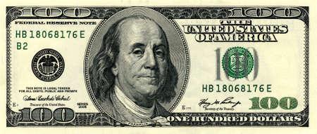 signos de pesos: dinero de cerca de 100 d�lares americanos Foto de archivo