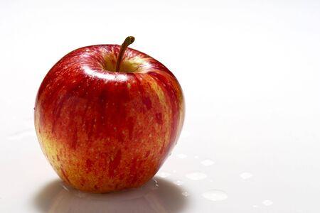 fine image of apple on white background Stock Photo - 3636889
