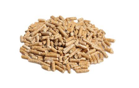 wood pellet: fine image of alternative biological energy, wood pellet