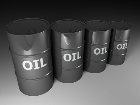 fine image 3d of classic oil tank background photo